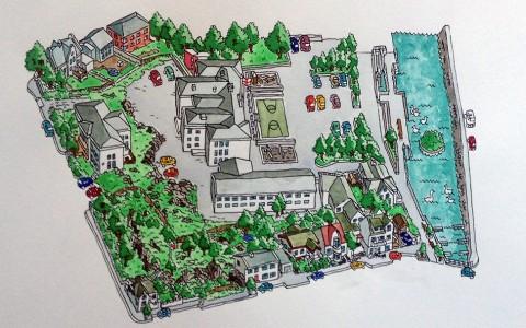 Snorri og Pétur - Lækjarskóli